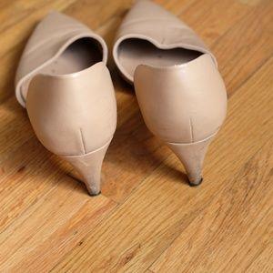 Vince Shoes - Vince Nude Pump Slip Ons Italy Sz 8M